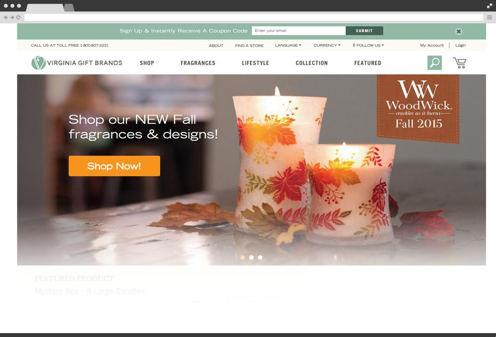 Virginia Gift Brands / WoodWick